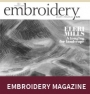 Cover of a recent edition of Embroidery.