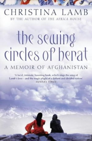 Cover of Christina's Lamb's 'The Sewing Circles of Herat' (2002).