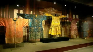 Display in the China National Silk Museum, Hangzhou.