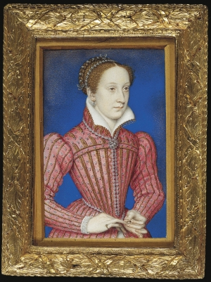 Miniature of Mary, Queen of Scots, by Francois Clouet.