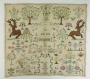 Sampler from The Netherlands, eighteenth century or earlier.