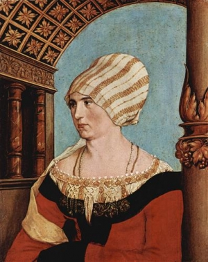 Hans Holbein the Younger: Dorothea Kannengiesser (1516).