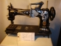 The Singer 17W12 embroidery 'Irish' sewing machine.