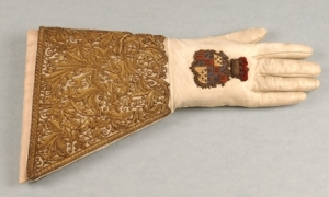 Queen Victoria's Coronation Glove.