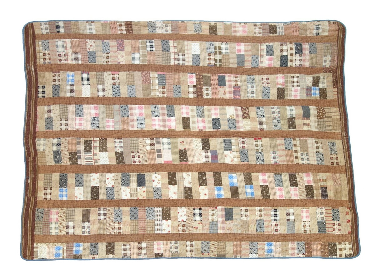 Chinese Coin quilt from North Carolina, USA, c. 1900 (TRC 2019.2229).