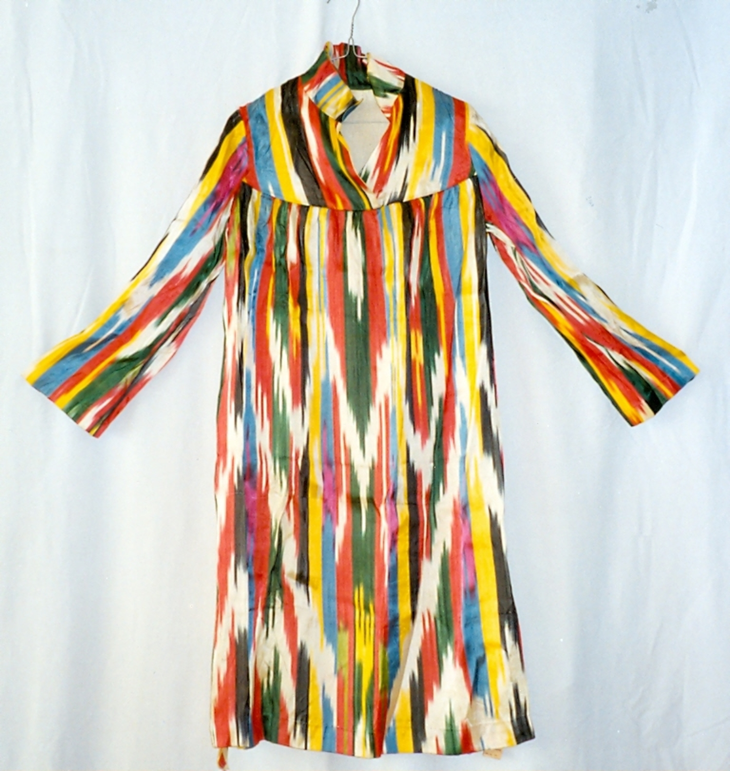 Dress for an Uzbek woman, 1980s. TRC 1997.0122
