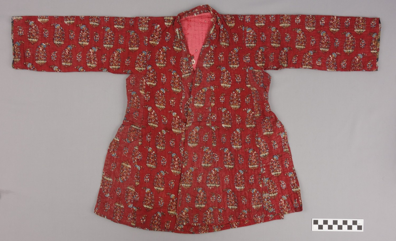 Quilted child's coat from Iran, 19th century (TRC 1997.0285).