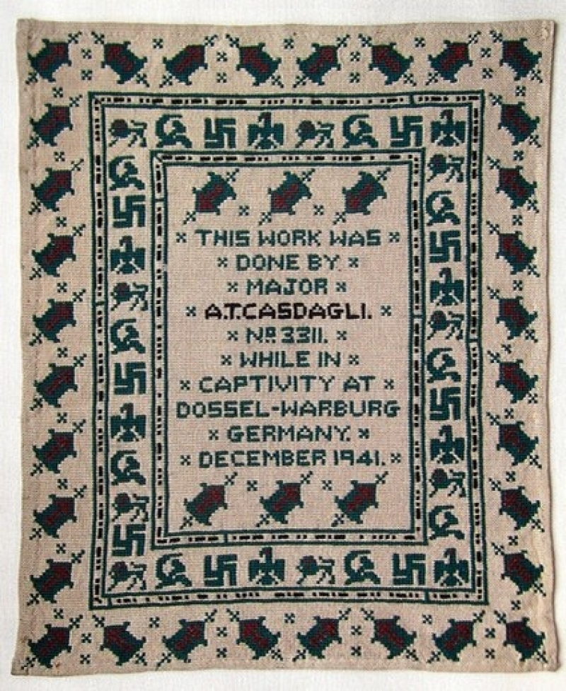 The Casdagli sampler, 1941.