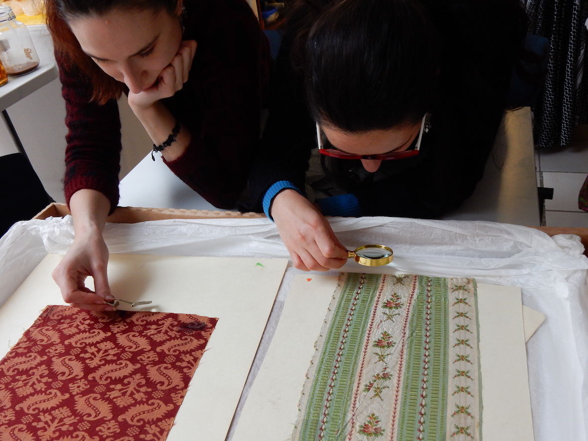 TRC Intensive Textile Course, 12-16 April 2017.