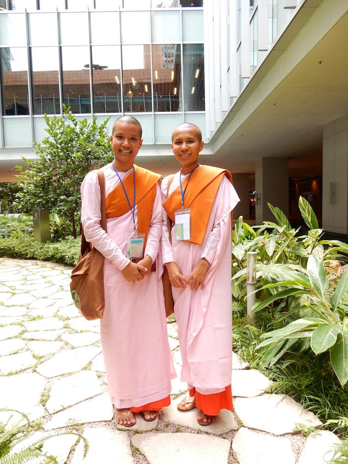 Buddhist robes