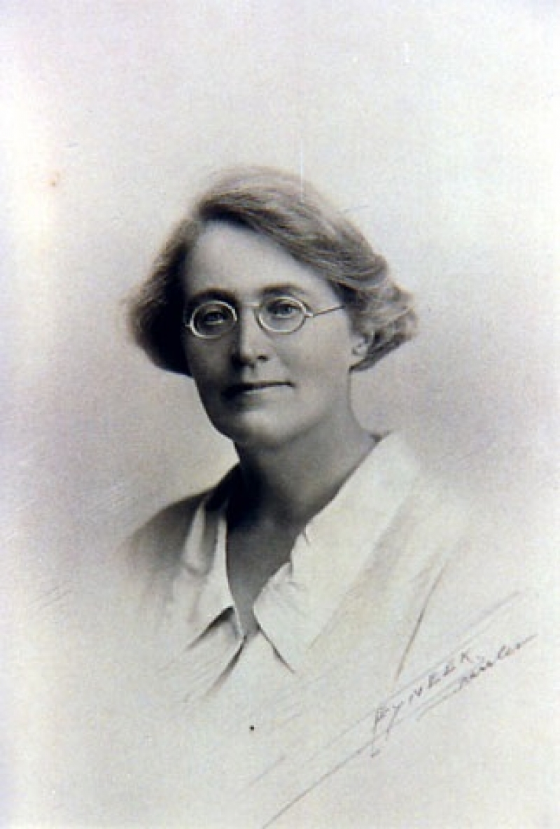 Grace Crowfoot, 1857-1957. Photograph courtesy of John Crowfoot.