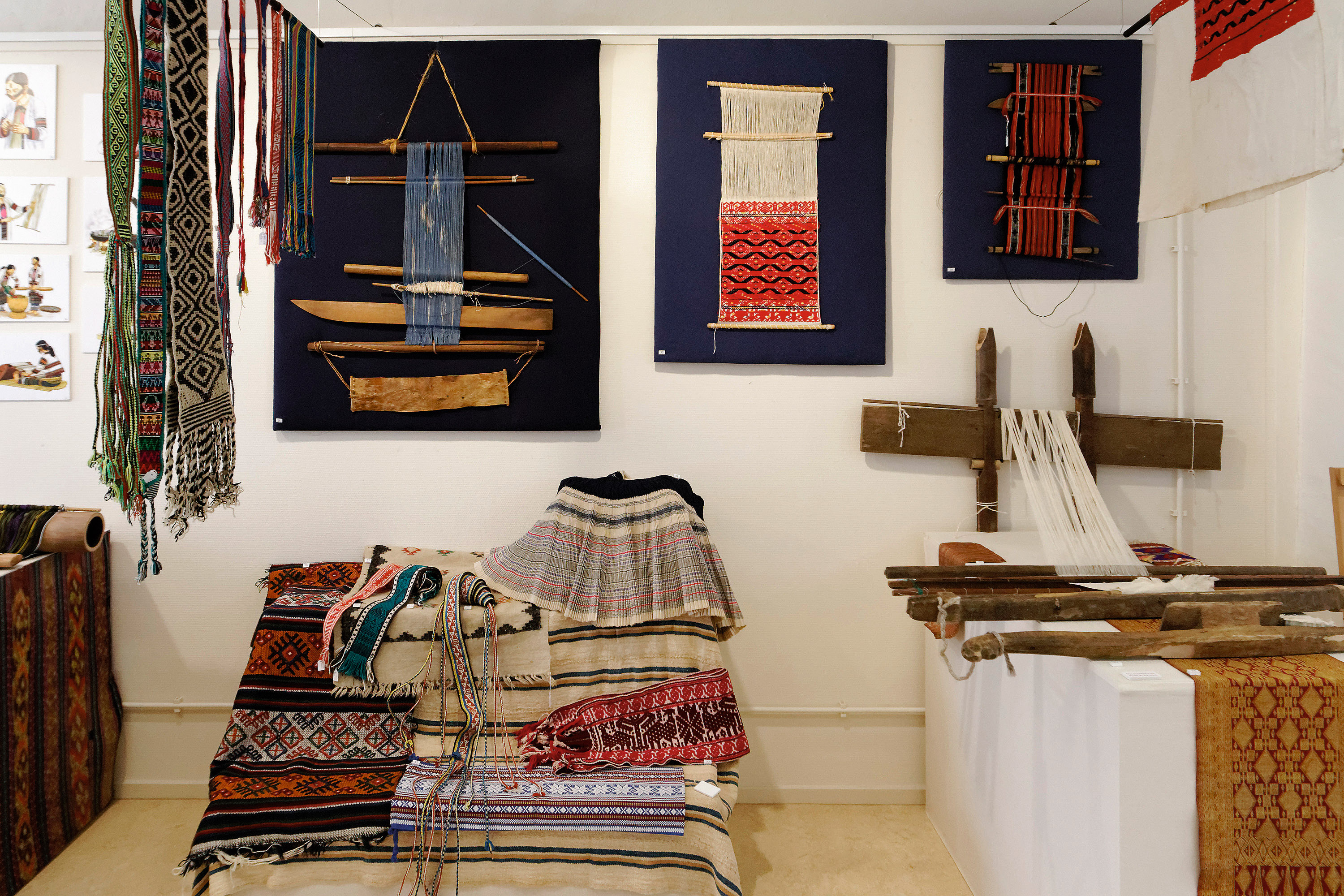 TRC exhibition Weaving the World. Photograph: Joost Kolkman.