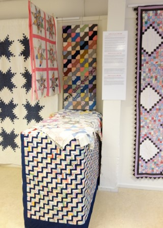 Quilts from the first half of the 20th century.