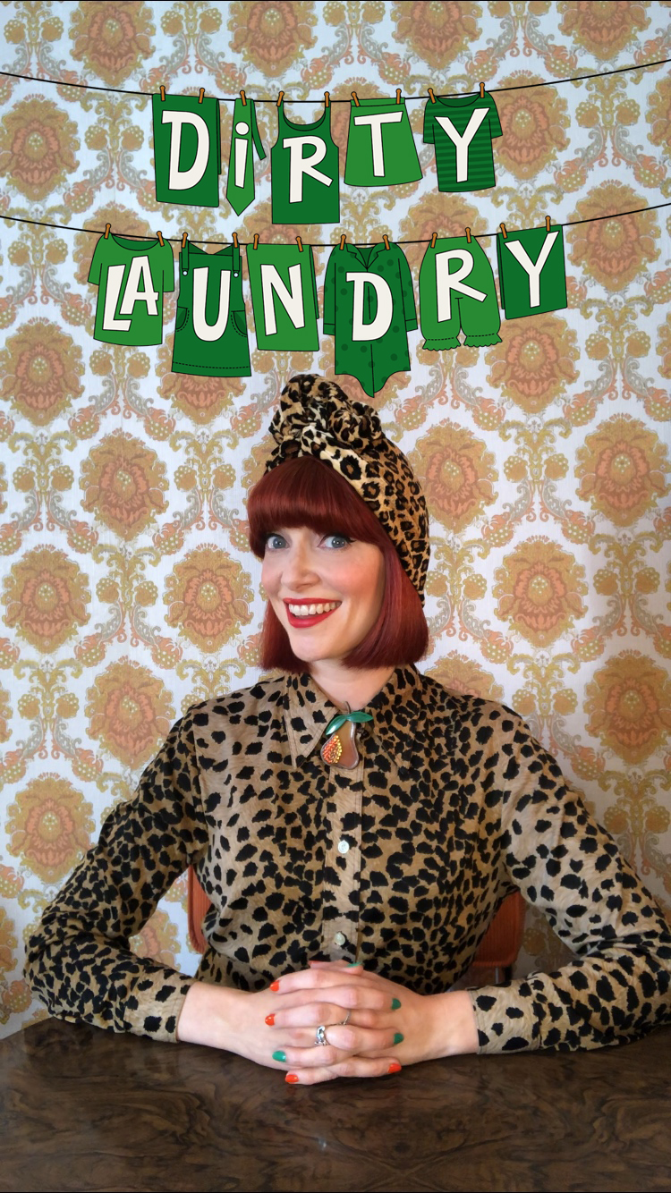 Amber Butchart's 'Dirty Laundry'