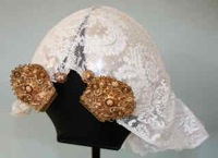 Dutch lace cap from TRC collection