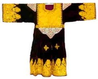 Pashtun dress, Afghanistan.      TRC 2005.0251b