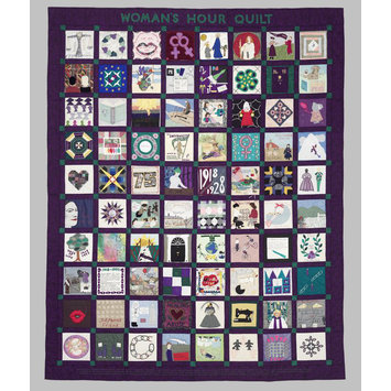 A patchwork quilt housed in the Victoria & Albert Museum, London (T1-1996). It was made in 1993 to celebrate 75 years of women's suffrage in Britain.